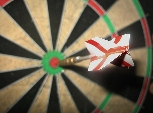 The bullseye moment is one day away